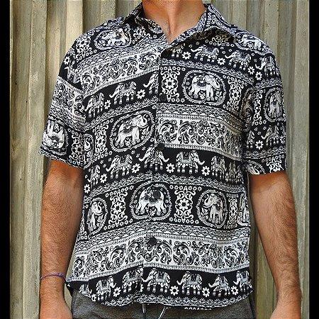 Camisa Black Elephant Dogsz