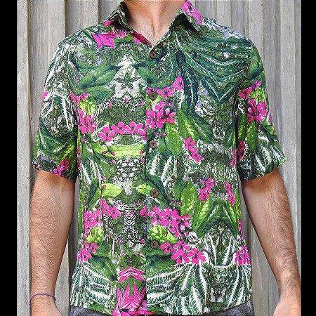 Camisa Pink Jungle Dogsz