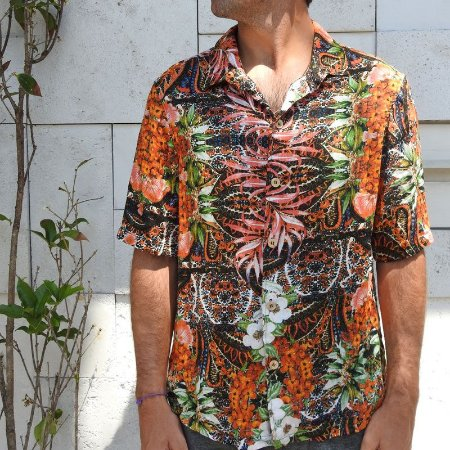Camisa Orange Jungle Dogsz