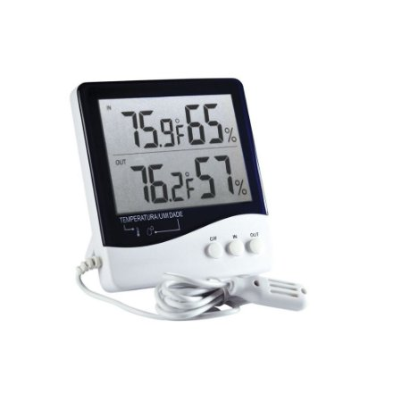 Termo-Higrômetro Incoterm 7664.01.0.00