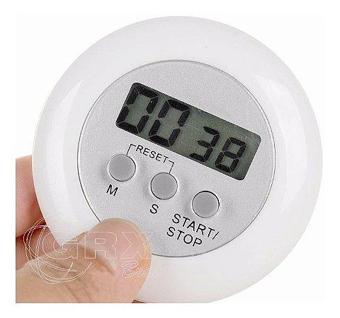 Timer Digital Cozinha Com Imã E Cronômetro Ideal Para Brinde