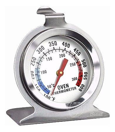 Termômetro Culinário Analógico Forno Alimentos 30-300°