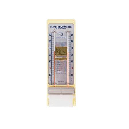 Termo-higrômetro Analógico Bulbo Seco E Úmido 5203.03.0.00