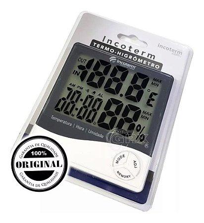Termo-Higrômetro Digital Incoterm 9690.02.0.00
