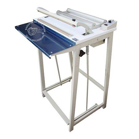 Seladora para Plástico Filete Pedal Bobina GRX-45-FP-SG-SS