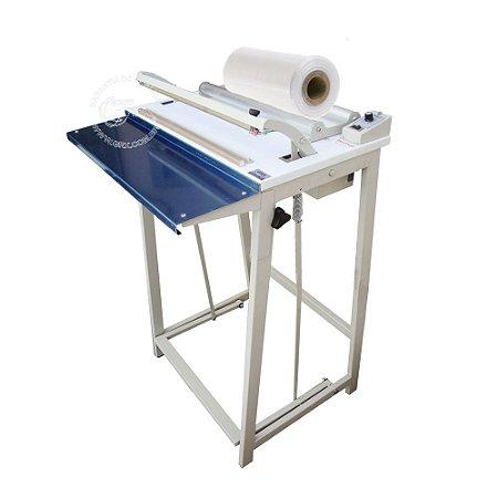 Seladora para Plástico Filete Pedal Bobina GRX-45-FP-SG-SD-A