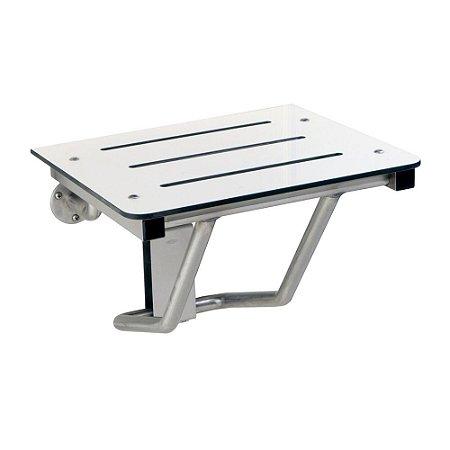 Assento Aço Inox para Banho Bobrick B-5191
