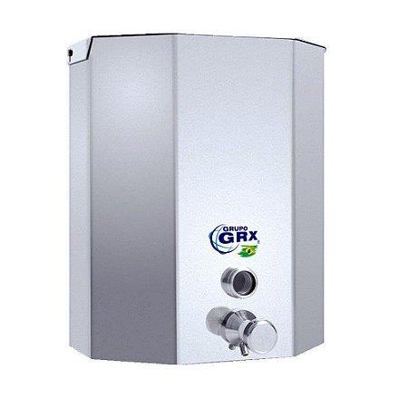 Dispenser Saboneteira com Visor Sabão Líquido Inox 5L GRX