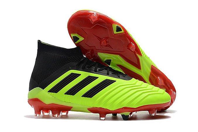 Chuteira Adidas Predator 18.1 FG - Outlet Chuteiras 8de7c54188251