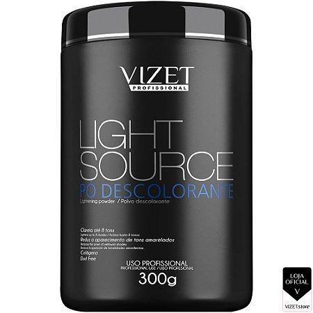 Pó descolorante Light Source 300gr Vizet Profissional