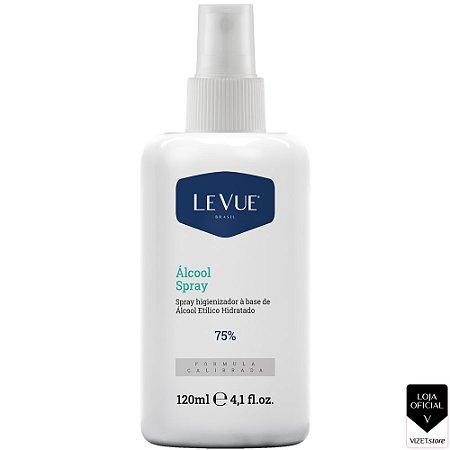 Álcool Spray Higienizador 75% 120ml Levue