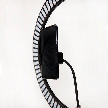 Suporte de celular flexível para Lives & Selfies.