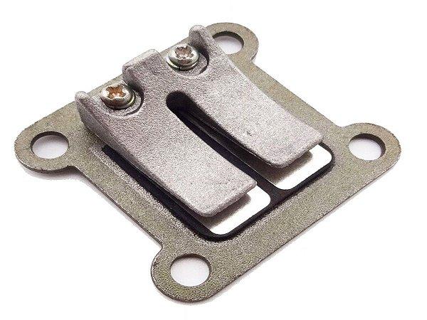 Palheta e Coletor de Admissão do Carburador para Mini Motos/Quadriciclos 49cc