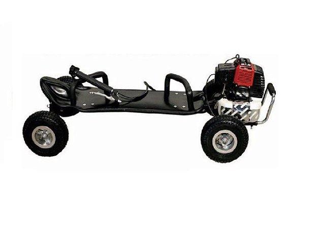 Super Skate Carve Motorizado á Gasolina 49cc