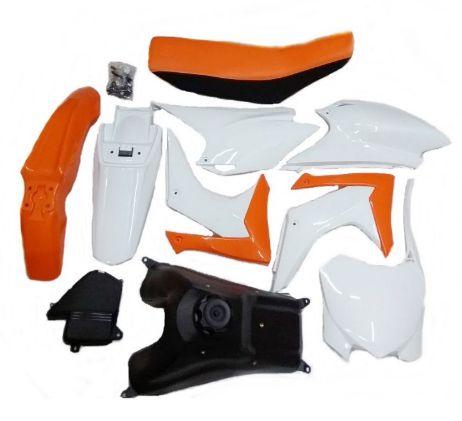 Kit Carenagem Crf 230 com Banco e Tanque