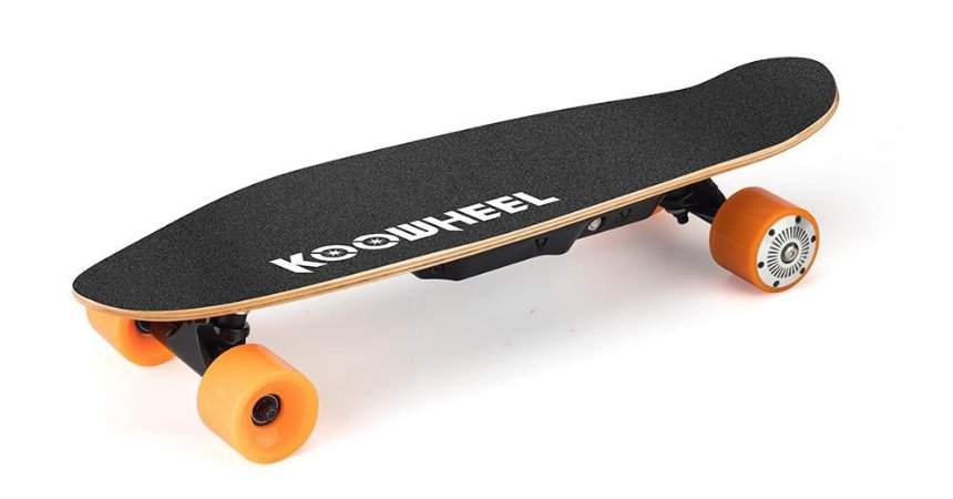 Skate Elétrico com Rodas Substituíveis e Controle Remoto