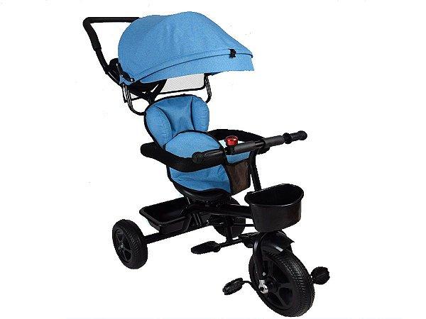 Super Triciclo Infantil com capota