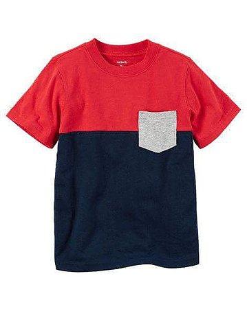 Camiseta Colorblock Carter's