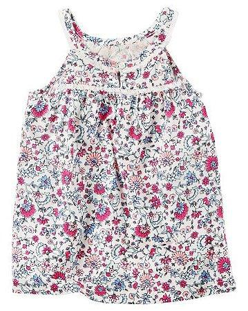 Blusa Alcinha Floral Carters