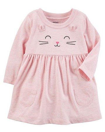 Vestido  Cat  Carter´s   9 meses