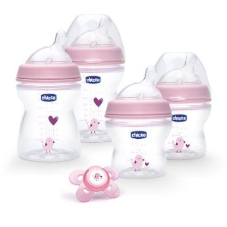 Kit Mamadeira Antícolica Natural Fit  CHICCO
