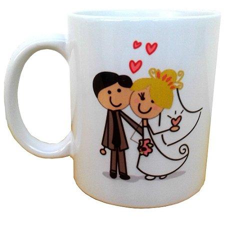 Canecas Para Padrinhos De Casamento de Cerâmica 325 ml