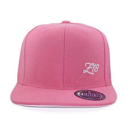 Boné  Zero18 Snapback Pink