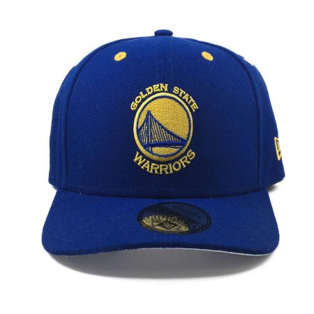 Boné New Era 940 Snapback Aba Curva Golden State Warriors Royal