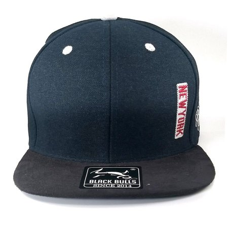 Boné  Black Bulls Snapback New York