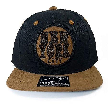 Boné  Dark Wolf Infantil Snapback New York City