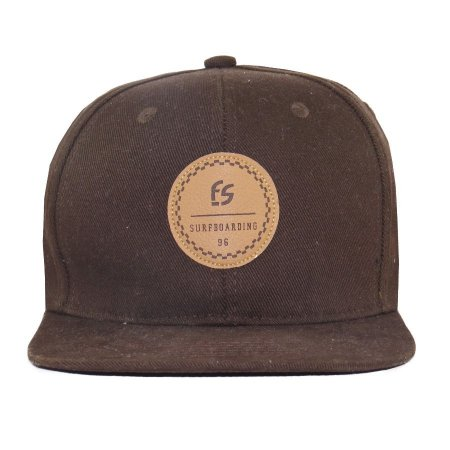 Boné Strapback Free Session Surfboarding Marron