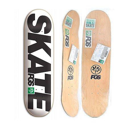 Shape Progress Skate Branco 8.0