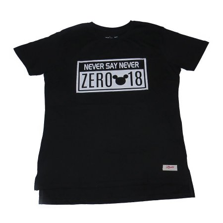 Camiseta Tshirt Zero18 Never Say Never