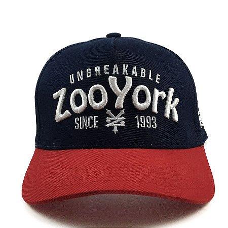 Boné Zoo York Aba Curva SnapbackType Marinho