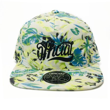 Boné Official Snapback Tropical