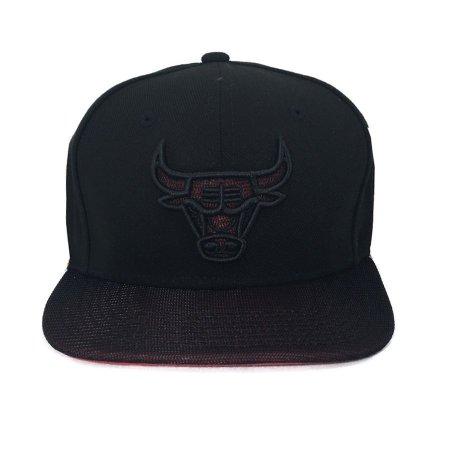 Boné New Era 950 Snapback Chicago Bulls Black