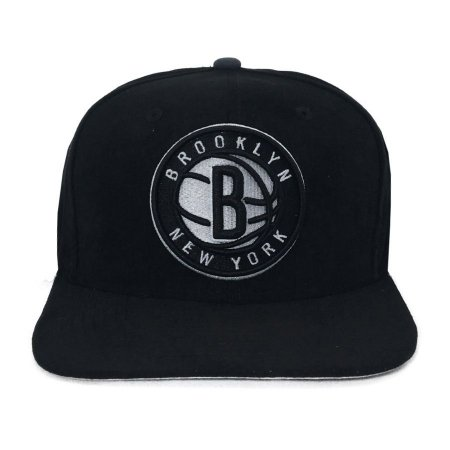 Bone New Era 950 Snapback Brooklyn NY  Suede Shift Bronet Otc - PRETO