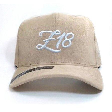 Boné Zero18 Snapback Z18 Camurça Bege