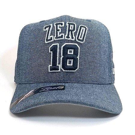 Boné Zero18 Snapback Jeans