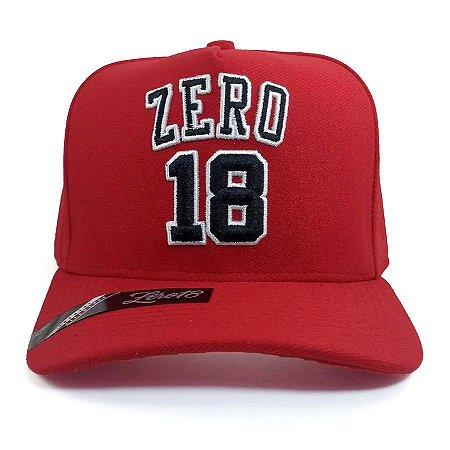 Boné Zero18 Snapback Vermelho
