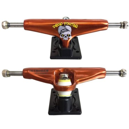 Truck Skate Intruder Pro Model D. Fontes 139mm