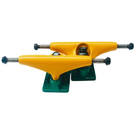 Truck Cisco Skate 139mm Amarelo/verde