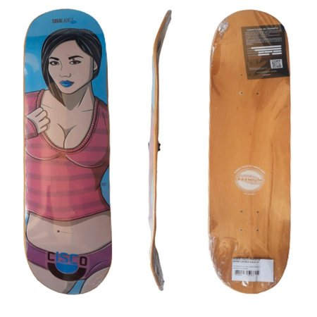 Shape Cisco Skate Fiber Decks Ladies Asian 8.0