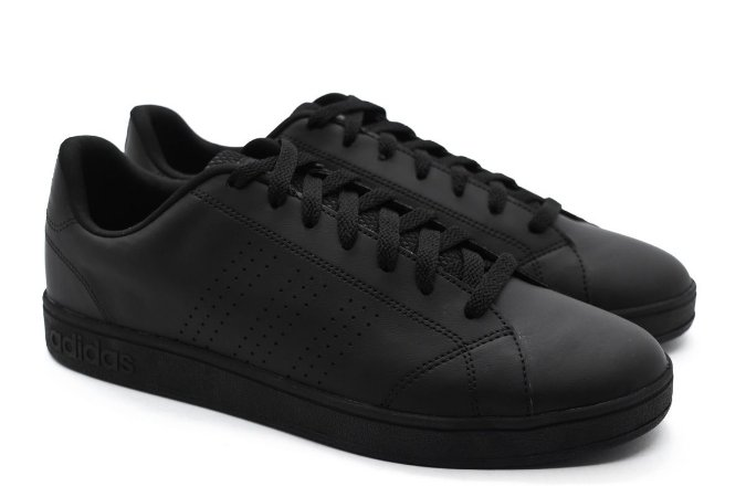 Tênis Adidas VS Advantage Clean Masculino Preto - Crispim Store ... acb4116ffbe92