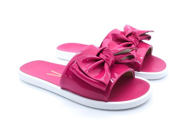 9ac13da517 Chinelo Slide Vizzano Laço Pink Verniz- Crispim Store - Crispim Store