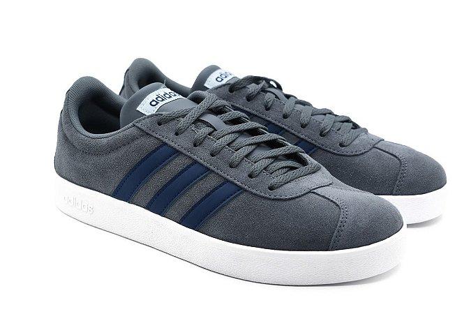 020dcec7a4 Tênis Adidas VL Court 2.0 Grafite - Crispim Store - Crispim Store