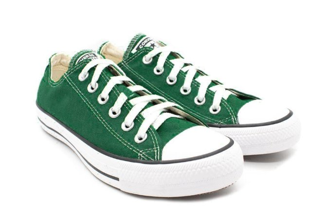 ade1c0c737 Tênis Converse Chuck Taylor All Star Ox CT04200029 Verde  Floresta Preto Branco