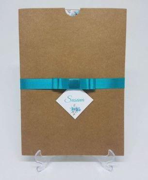 Convite Envelope Luva Kraft