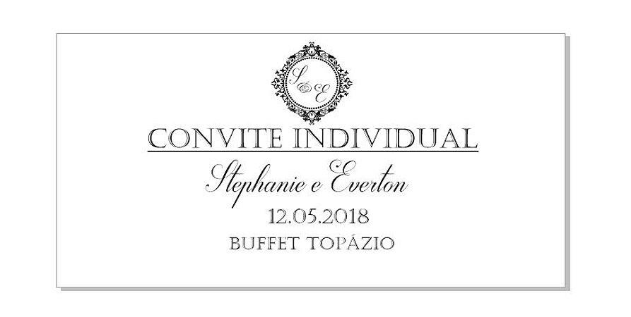 Convite Individual e Tag em Geral