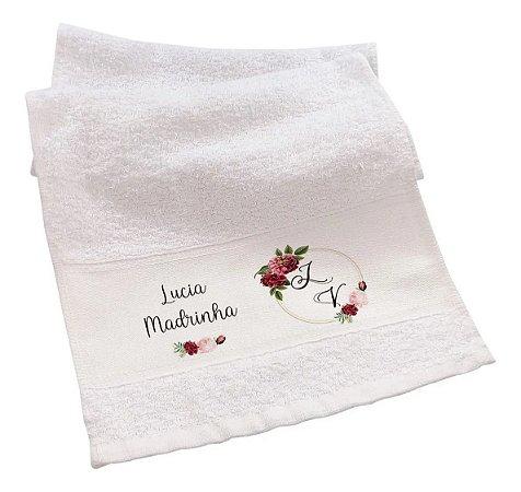 Toalha de mão - Personalizada  Lembrancinha